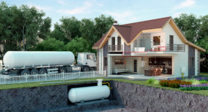 Автономная газификация частного дома