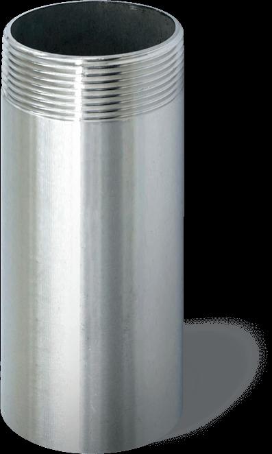 Обсадка скважины металлической трубой