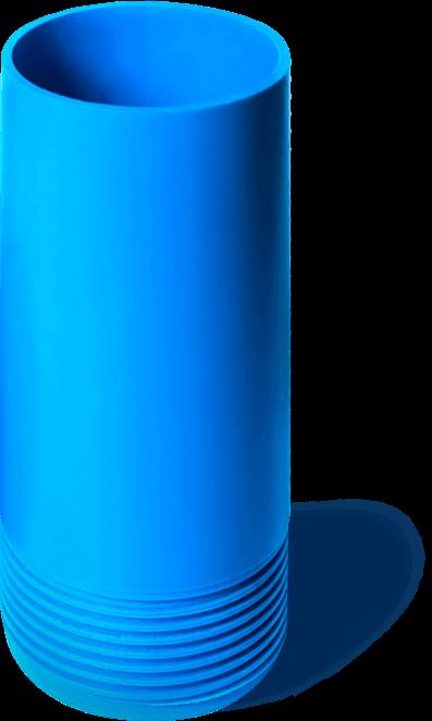 Обсадка скважины пластиковой трубой